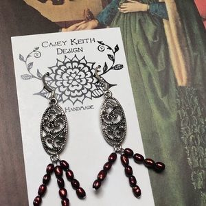 Casey Keith Design Jewelry - Femme Fatal 💃🏻Earrings